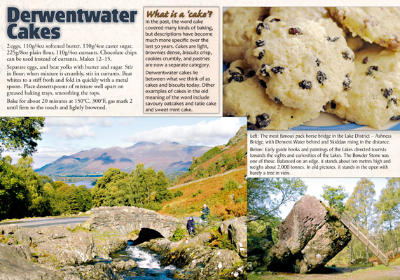 Lake District & Cumbria in Recipes and Photographs: inside page